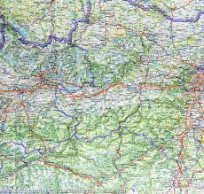 Detailed Map Of Germany by Map Of The Alps France Italy Switzerland Austria Germany