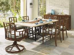 Swivel Dining Room Chairs Ocean Club Resort Swivel Rocker Dining Chair Lexington Home Brands