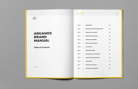 brand manual on behance