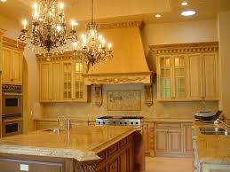 kitchen dark maple kitchen cabinet with light brown wall color