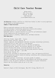 Customer Service Experience Resume Child Care Experience Resume Resume For Your Job Application