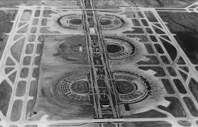 Map Of Dallas Fort Worth Airport by Dfw Airport Under Construction U2014 1973 Flashback Dallas