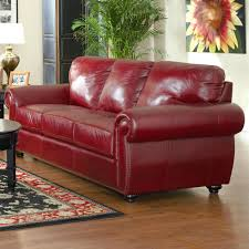 design ideas splendid maroon leather recliner burgundy sofa red