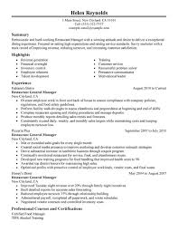 Janitor Sample Resume by 14 Top Restaurant Resume Sample Recentresumes Com