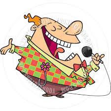 Cartoon Comedian by Ron Leishman | Toon Vectors EPS #