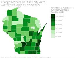 Wisconsin Map With Counties by How And Where Trump Won Wisconsin In 2016 Wiscontext