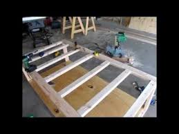 Plans To Build A Platform Bed With Storage by Diy Day Bed Part 1 Rough Frame And Design Youtube