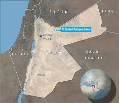 Jordan Country Map King Abdullah Says Jordan Is At U0027boiling Point U0027 With Number Of