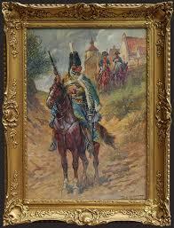 Fritz Neumann \u0026quot;Zwiad\u0026quot;, ok. 1910 r. Galeria Żak - 619558f89370d817f1386047dd7a45e3