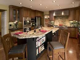 Flooring For Kitchen by Kitchen Large Kitchen Island Ideas And 25 Rustic Dark Wood Floor