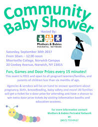 chenango county public health nursing 2017 community baby shower