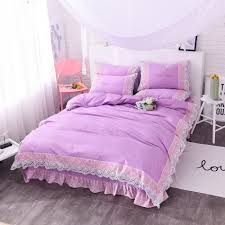 Purple Bed Sets by Online Get Cheap Purple Bedding Sets Queen Aliexpress Com
