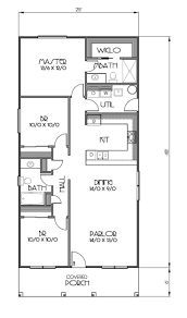 Floor Plans For One Level Homes by 25 Best Cottage Style Houses Ideas On Pinterest Cottage Style