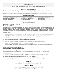 dba sample resume sample resume for financial analyst free resume example and sample financial analyst resume