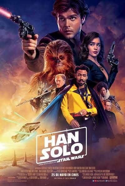Han Solo: Una Historia de Star Wars- Los Juegos de la Miel  - Cine Verano Archena Parque