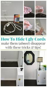 Hidden Cable Tv Wall Mount 25 Best Hiding Cords Ideas On Pinterest Hide Computer Cords