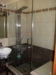 Interior Frameless Glass Door by Bathroom Frameless Shower Doors Near Me Half Glass Panel