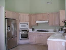 How To Paint Veneer Kitchen Cabinets Kitchen Beautiful U Shape Kitchen Design Using Pastel Light Green