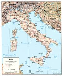 Map Of Italy Regions by Free Maps Of Italy
