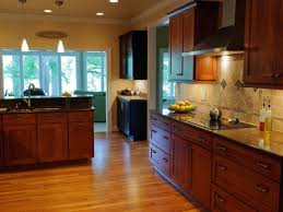 Restaining Kitchen Cabinets Refinishing Kitchen Cabinet Ideas Pictures U0026 Tips From Hgtv