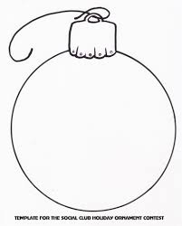 drawing of christmas ornaments christmas ornaments to color