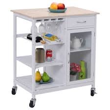 Marble Top Kitchen Island Cart by Amazon Com Giantex Portable Kitchen Rolling Cart Faux Marble Top