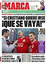 Spanish dailies scraping barrel for Ronaldo crumbs - La Liga Loca ...