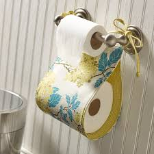 Extra Toilet Paper Holder by Tissue Caddy Make It Coats