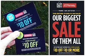 Jcpenney Clocks New Coupon Giveaway At Jcpenney Tomorrow Only The Krazy Coupon