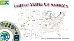 Us Map Michigan by To The Four Corners Of The Usa On An Electric Motorcycle Pacific