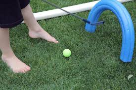 Backyard Golf Hole by Outdoor Fun Backyard Mini Golf Course Kix Cereal