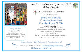 New Office Invitation Card Invitation To The Dedication Blessing Of The Mother Teresa Home 8