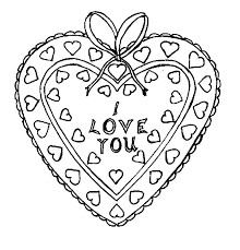bear i love u valentines day coloring pages valentine coloring