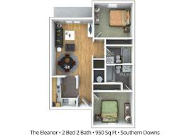 Floor Plan 2 Bedroom Apartment 2 Bedroom Apartment Floor Plans U0026 Pricing U2013 Southern Downs