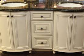 Bathroom Vanity With Offset Sink Antique White Bathroom - 48 bathroom vanity antique white