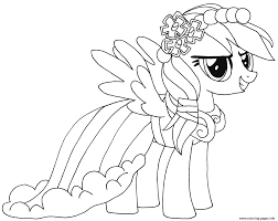 My Little Pony Colouring Pages Rainbow Dash My Little Pony Coloring Pages Printable
