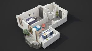 One Room Apartment Floor Plans 40 More 1 Bedroom Home Floor Plans