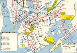 Map Nj Nyc Subway Maps Have A Long History Of Including Path Nj Waterfront