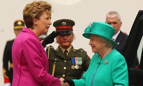 Mary McAleese and The Queen