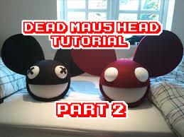 Deadmau5 Costume Halloween Deadmau5 Head Tutorial 2 Lights Projects