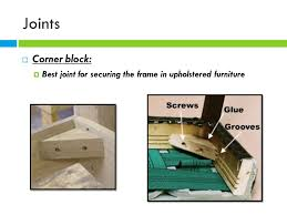 furniture construction ppt video online download