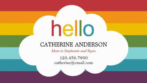 Calling Business Cards Girly Mommy Calling Card Business Cards Girly Business Cards