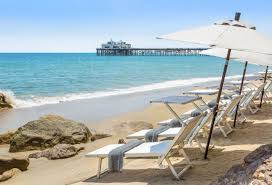 Luxury Beach Chair Malibu Oceanfront Hotel Rooms Luxury Accommodations Malibu