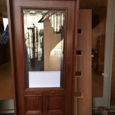 exterior door with blinds between glass wood exterior doors with blinds between the glass nicksbuilding com