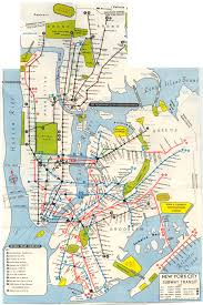 Subway Nyc Map by 1968 New York System Map New York City Pinterest Rapid