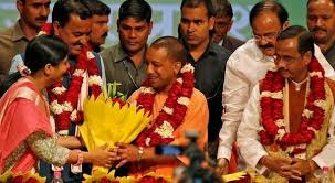 Yogi Adityanath to take oath as UP CM today  PM Modi to attend     Siasat