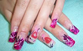 picture 4 of 11 valentine nail designs easy photo gallery
