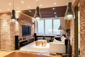 New Wall Design by Stylish Laconic And Functional New York Loft Style Interior