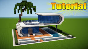 minecraft modern beach house tutorial how to build a house in