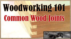 Woodworking Joints Worksheet by Woodworking 101 Common Woodworking Joinery Youtube